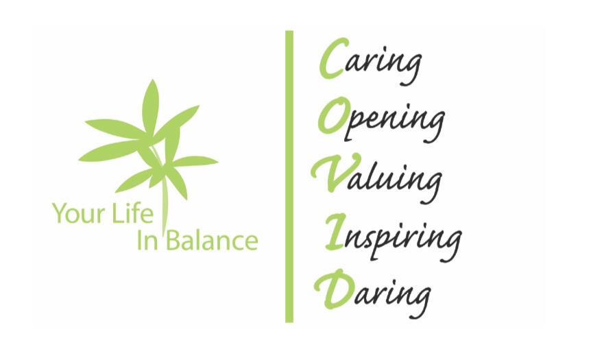 Covid, Caring, Opening, Valuing, Inspiring, Daring
